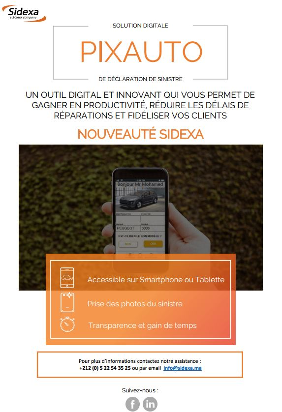 PIXAUTO la solution digitale